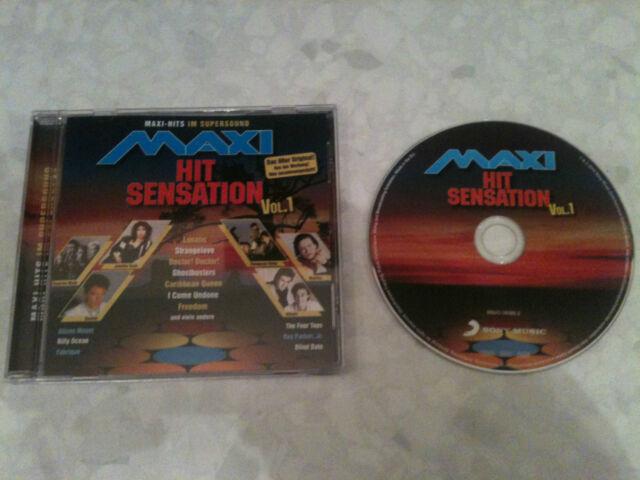 "Maxi Hit Sensation - Original CD © 2014:12""Mixes:Gazebo,Billy Ocean,Depeche Mode"