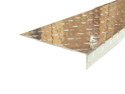 Aluminum Diamond Plate Angle .062 X 1 X 6 X 48 In. 3003 Uaac 2pcs