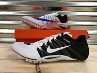 a59fc07b159 Nike Zoom JA Fly 2 Running Track Spikes Shoes White Racer Blue SZ (  705373-100 ) ...