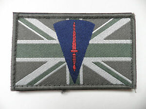 Royal Marines Union Jack patch, velcro backed, latest must have!