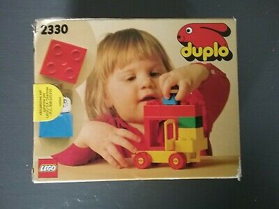 Vintage Lego Duplo 2330 1981 Neuf Scellé New Sealed