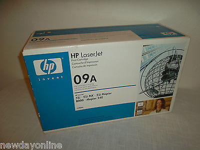 HP Black Toner Cartridge 09A 15K-Page Yield 5Si MX 8000 C3909A 5Si MX 8000dn NEW