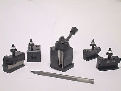 Oxa Wedge Type Tool Post Set For Mini Lathe Up To 8
