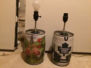 Bubba Beer Keg Lamps