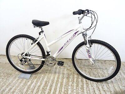 "Raleigh Carolina ATB Ladies Girls Hybrid Mountain Bike 17"" Md Alloy Low Used VGC"