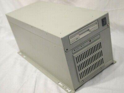 Advantech Industrial Computer Sbc Pca-6155v Pentium 233mhz Mmx 128mb Floppy Case