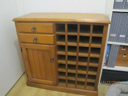 wine cupboard in very good condition