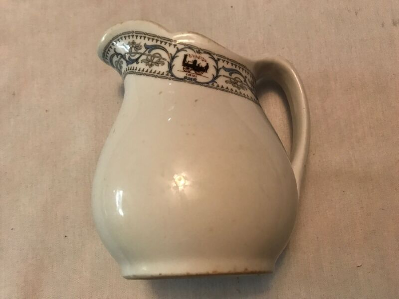 New York Central Railroad Lines Vintage Dining Car China Pitcher