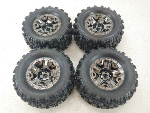 """BRAND NEW Traxxas HOSS Sledghammer 2.8"""" Monster Truck Tires on 12mm Hex Wheels"""