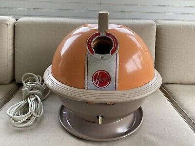 Vintage Hoover Constellation model 858 canister vacum with tons of attachments