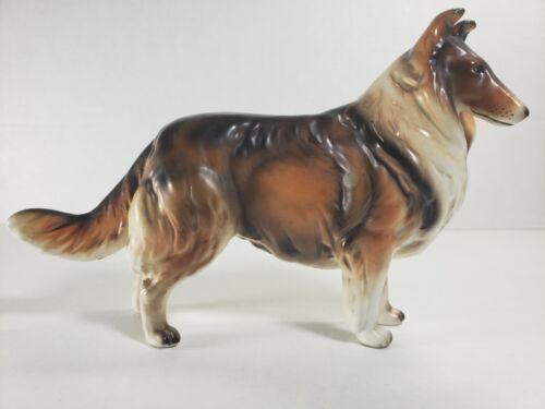 Rough Collie Porcelain Figurine