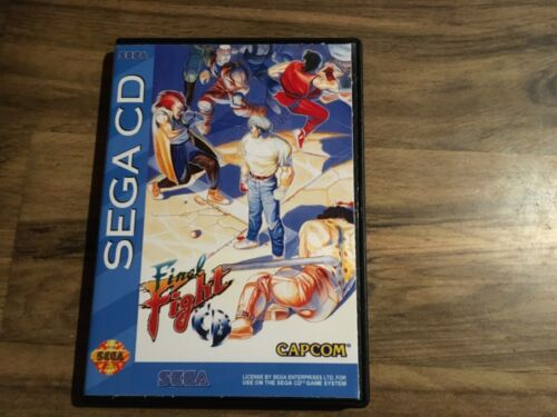 Final Fight For Sega CD — Authentic — Disc Only — Tested And Working