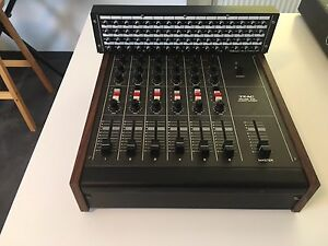 TEAC Model 2a 6 Kanal Mixer im Top Zustand & Patchbay PB-64 absolut RAR Vintage
