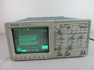 Tektronix Tek Tds380 Digital Oscilloscope 2 Channel 400mhz 2gsas Real Time