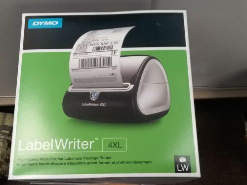 Dymo LabelWriter 4XL Direct Thermal Printer - Monochrome - Silver - Desktop - La