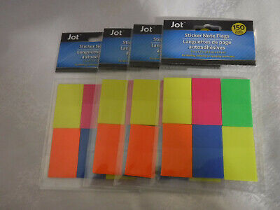 Sticky Notes Flags Wide Tabs Multi Color
