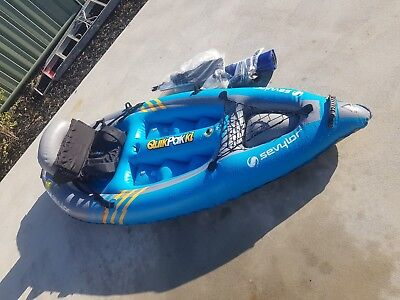 inflatable KAYAK SEVYLOR  K1 quickpak boat canoe for sale  Shipping to South Africa