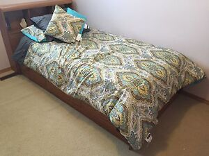 complete bed set and mattress with dresser