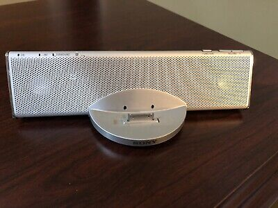 Sony SA-iP001P Cradle 2.1 Channel Audio System for iPod.  Base unit only~