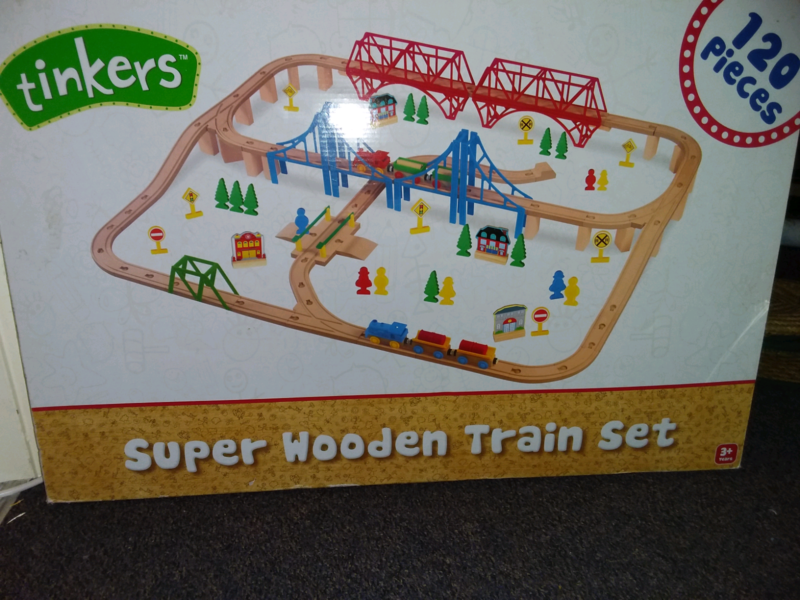 Tinker 120 Piece Train Set Toys Indoor Gumtree Australia Lake