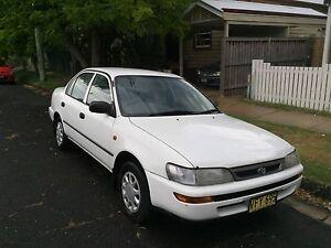 1998 Toyota Corolla CSI Sedan Islington Newcastle Area Preview