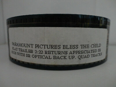 35mm Movie Trailer FLAT Bless the Child Preview Film Cell Collectibles - The Halloween Kid Trailer