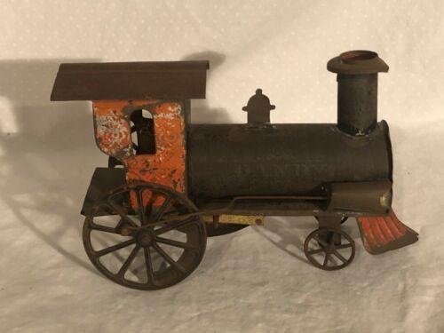 Ives Dandy Tin Toy Clockwork Locomotive 1870s American Tin Toy
