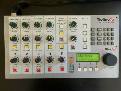 Tieline TLM600 G3 5 channel IP/POTS Codec