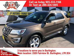 2016 Ford Explorer XLT, Navigation, Leather, 3rd Row Seating, 4x