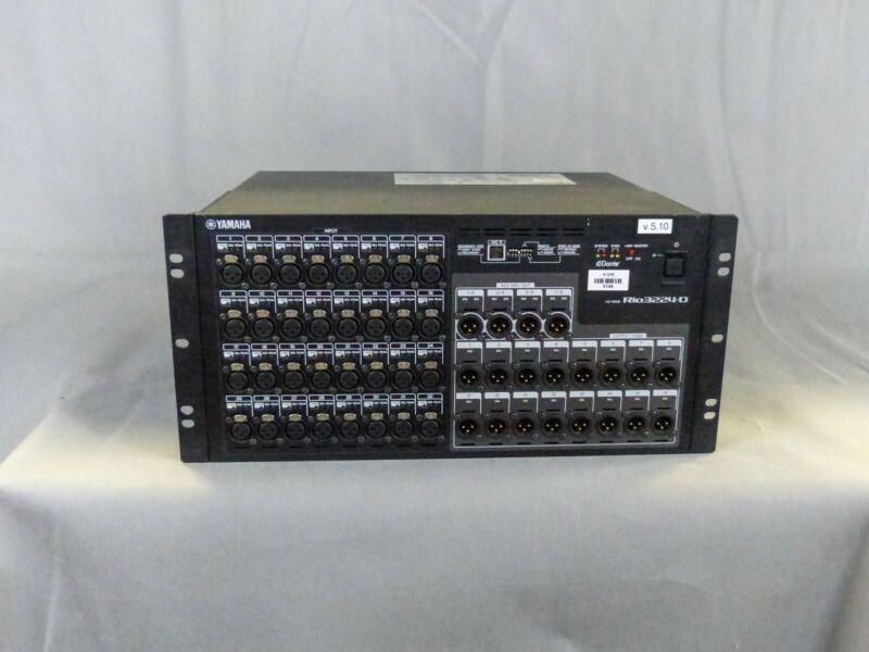 Yamaha RIO 3224-D Dante I/O Rack - designed for Yamaha consoles. Free Freight!