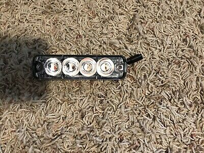 Tomar Rect 14 Amber Led Lighthead 2 Wire Hookup