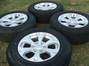GENUINE TRITON 17'' ALLOY WITH TYRES AS NEW