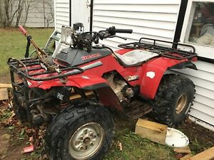 Honda 250 Fourtrax fixer-upper $500
