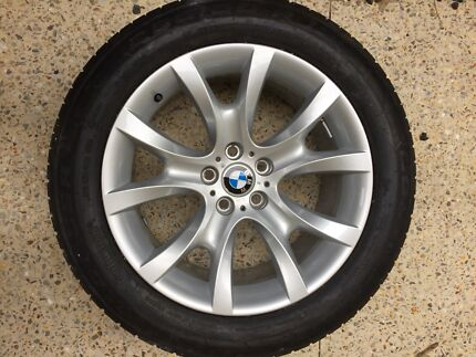BMW X5 Alloy wheels and tyres (As new)