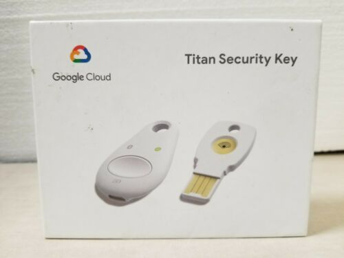 Google Titan Security Key Bundle - USB - Bluetooth (K9T K13T) New/Sealed