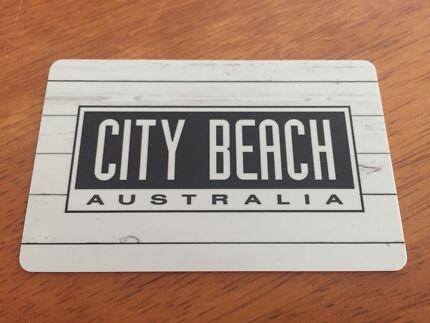 City Beach $50 gift card (Xmas present)