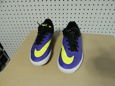 Purposeful Boys Puma Astro Turf Soccer Shoes Neon Yellow Orange Blue School Sports Trainers Clothing, Shoes, Accessories