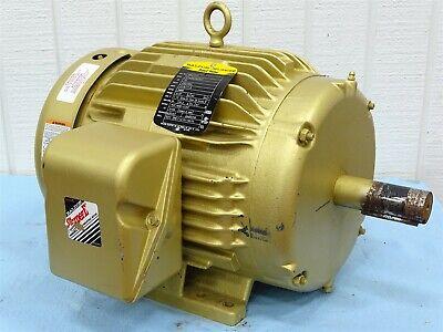 Baldor Em3771t Electric Motor 3-phase 10hp 3490rpm 230460vac 23.611.8a 60hz