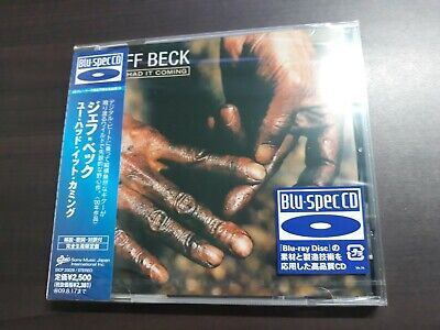 Jeff Beck - You Had It Coming Japan Blu-Spec CD / EICP-20028 / Sealed