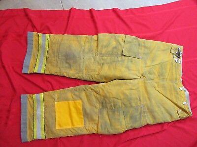 Globe 36 X 28 Firefighter Turnout Bunker Fire Pants Gear Costume Halloween