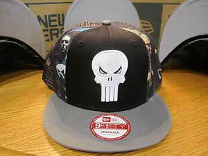 Punisher War Zone Slice Marvel Comics New Era Hat Snapback Med-Large NWT 0309