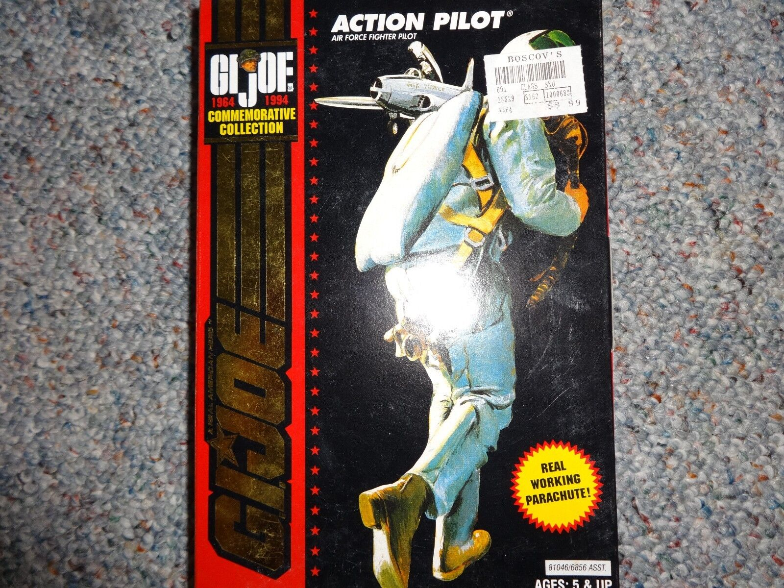 G.i. JOE Commemorative Collection Action T Air Force Fighter