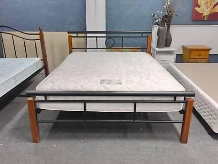 DELIVERY TODAY MODERN Queen bed &COMFORT AUSTRALIAN MADE mattress