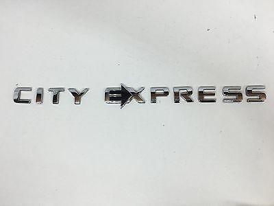2015   2016 Chevy  City Express  Script Emblem Oem  19317602