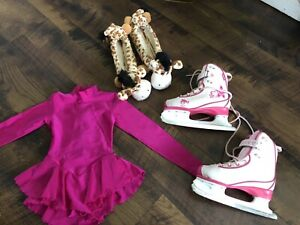 Girls skates & skate dress