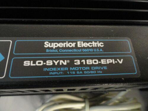 Superior Electric SLO-SYN 3180-EPI-V Indexer Motor Drive