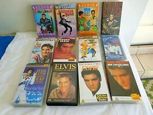 VHS Tapes Elvis Presley Morayfield Caboolture Area Preview