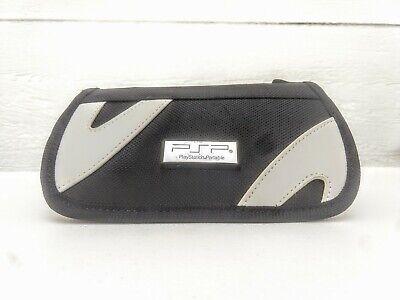 Sony PSP PlayStation Portable Original Travel Case BDA Nylon Black Zipper Pouch for sale  Shipping to Nigeria