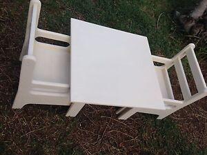 Montessori Child Table & Chair Set Taringa Brisbane South West Preview