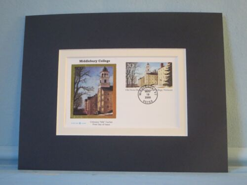 Middlebury College founded in 1800 & 200th Anniversary First Day Cover